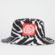 MILKCRATE ATHLETICS Zebra Mens Bucket Hat