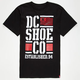 DC SHOES RD Stacked Flag Mens T-Shirt