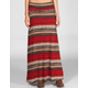 FULL TILT Ethnic Stripe Maxi Skirt