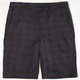 VALOR Dylan Plaid Mens Shorts