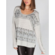 H.I.P. Ethnic Border Stripe Womens Tunic