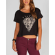 FULL TILT Ethnic Daimond Womens Boxy Crop Tee