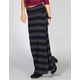 H.I.P. Blurry Stripe Maxi Skirt