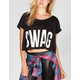 FULL TILT Swag Womens Crop Tee