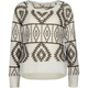 FULL TILT Ethnic Pattern Girls Hi Low Sweater