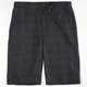 VALOR Dylan Plaid Boys Shorts
