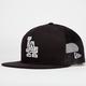 NEW ERA LA Dodgers Mens Trucker'd Snapback Hat
