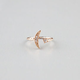 FULL TILT Dainty Stone & Moon Ring