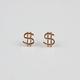 FULL TILT Dollar Sign Earrings