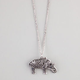 FULL TILT Filigree Elephant Necklace