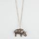 FULL TILT Filigree Elephant Necklace