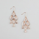 FULL TILT Rhinestone Dangle Chandelier Earrings