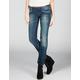 DICKIES Tab Waist Womens Skinny Jeans