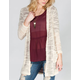 H.I.P. Womens Hooded Pocket Cardigan