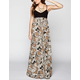 RVCA Carbon Ribs Maxi Dress