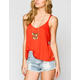 RVCA Kid Blue Womens Tank