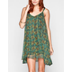 RVCA Garden Chiffon Slip Dress
