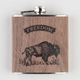 Freedom Real Wood Flask