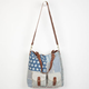 T-SHIRT & JEANS Betsy Patchwork Tote Bag