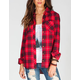 FULL TILT Womens Flannel Shirt