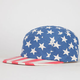 AQUARIUS Americana Mens 5 Panel Hat