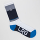 LRG Down From Earth Mens Crew Socks