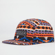 YOUNG & RECKLESS Native Print Mens 5 Panel Hat