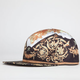 YOUNG & RECKLESS Luxury Print Mens Snapback Hat