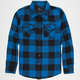 SHOUTHOUSE Lancaster Boys Flannel Shirt