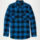 SHOUTHOUSE Lancaster Mens Flannel Shirt