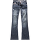 HYDRAULIC Bailey Womens Skinny Flare Jeans