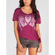 FULL TILT Tribal Womens Tie Side Tee