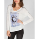 FULL TILT Sun and Moon Womens Hachi Knit Tee
