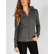 FULL TILT Faux Fur Trim Womens Hoodie