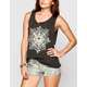 RVCA Checker Mind Womens Muscle Tank