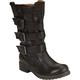 QUPID Raggae Triple Buckle Womens Boots