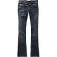 VANILLA STAR Flap Pocket Womens Bootcut Jeans