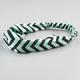 FULL TILT Chevron Stripe Chiffon Headband