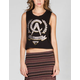 FATAL Wreath Womens Crop Muscle Tank