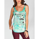 HURLEY Space Tropic Womens Tank