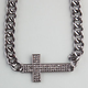 FULL TILT Chunky Chain Cross Necklace