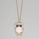 FULL TILT Hologram Owl Necklace