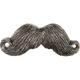Mustache Belt Buckle