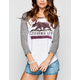 BILLABONG Bear From Cali Womens Baseball Tee