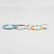 FULL TILT 5 Piece Love/Bow/Infinity Bracelets