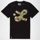 LRG Floral Cursive Mens T-Shirt