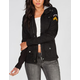 ASHLEY Womens Twill Military Jacket