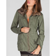 ASHLEY Faux Fur Trim Womens Anorak Jacket
