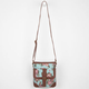 Rose Print Crossbody Bag