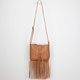 O-Ring Fringe Crossbody Bag